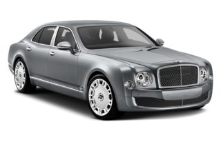 3/4 Front Glamour 2014 Bentley Mulsanne