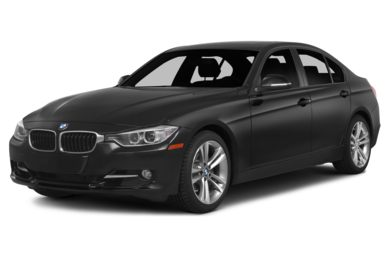 3/4 Front Glamour 2014 BMW 320