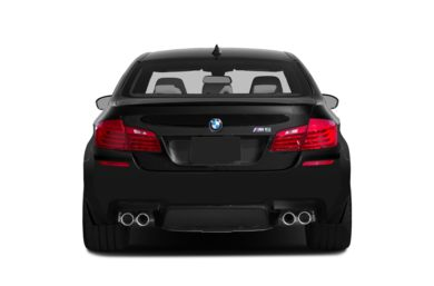 Rear Profile  2016 BMW M5