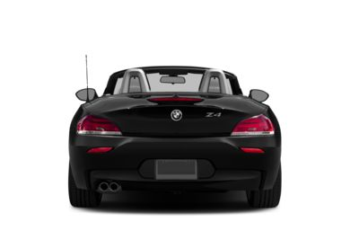 Rear Profile  2016 BMW Z4