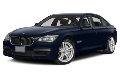 3/4 Front Glamour 2013 BMW 760