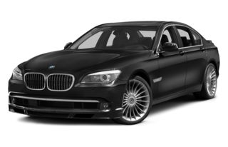 3/4 Front Glamour 2014 BMW ALPINA B7