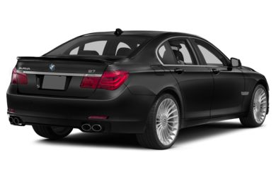 3/4 Rear Glamour  2014 BMW ALPINA B7