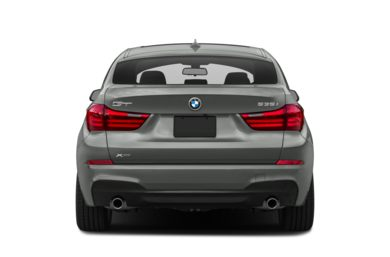 Rear Profile  2014 BMW 550 Gran Turismo