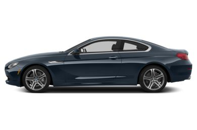 90 Degree Profile 2014 BMW 640