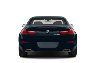 Rear Profile  2014 BMW 640