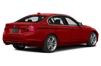 3/4 Rear Glamour  2014 BMW ActiveHybrid 3