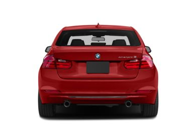 Rear Profile  2014 BMW ActiveHybrid 3