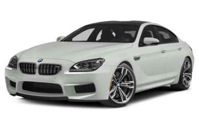 3/4 Front Glamour 2014 BMW M6 Gran Coupe