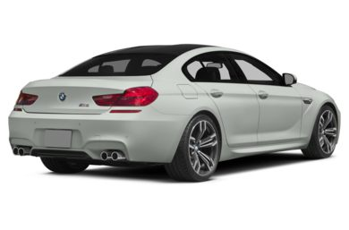 3/4 Rear Glamour  2014 BMW M6 Gran Coupe