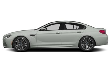 90 Degree Profile 2014 BMW M6 Gran Coupe