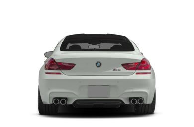 Rear Profile  2014 BMW M6 Gran Coupe