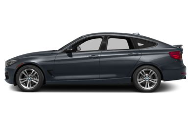 90 Degree Profile 2014 BMW 328 Gran Turismo