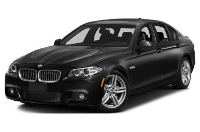 3/4 Front Glamour 2016 BMW 535d