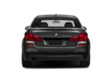 Rear Profile  2014 BMW 535d