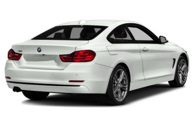 3/4 Rear Glamour  2014 BMW 428