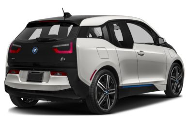 3/4 Rear Glamour  2014 BMW i3