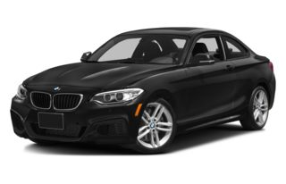3/4 Front Glamour 2014 BMW 228