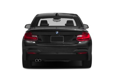Rear Profile  2016 BMW 228