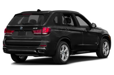 3/4 Rear Glamour  2015 BMW X5