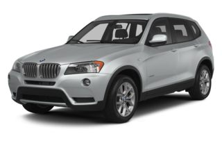 3/4 Front Glamour 2014 BMW X3
