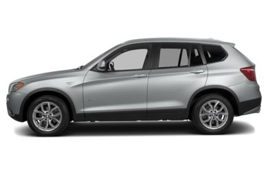 90 Degree Profile 2014 BMW X3