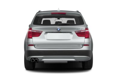 Rear Profile  2014 BMW X3