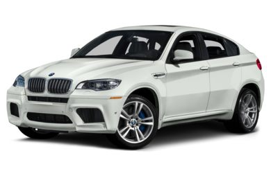 3/4 Front Glamour 2014 BMW X6 M