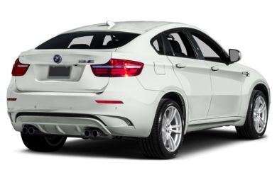 3/4 Rear Glamour  2014 BMW X6 M