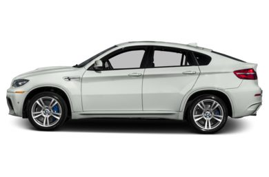 90 Degree Profile 2014 BMW X6 M