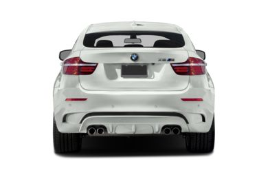 Rear Profile  2014 BMW X6 M