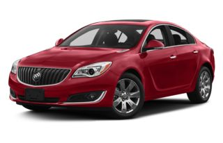 3/4 Front Glamour 2014 Buick Regal