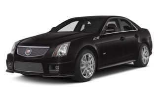 3/4 Front Glamour 2014 Cadillac CTS-V