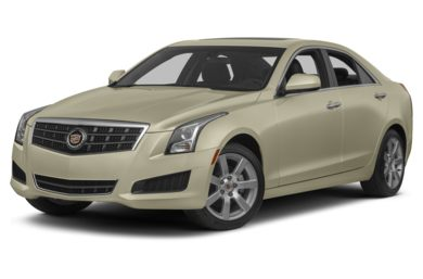 3/4 Front Glamour 2014 Cadillac ATS