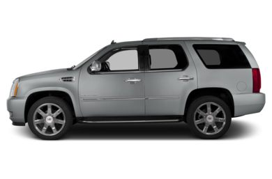 90 Degree Profile 2014 Cadillac Escalade