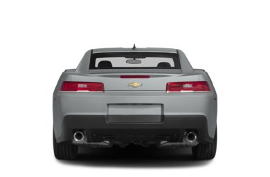 Rear Profile  2014 Chevrolet Camaro