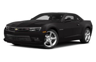 3/4 Front Glamour 2014 Chevrolet Camaro
