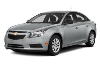 3/4 Front Glamour 2014 Chevrolet Cruze