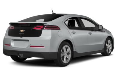 3/4 Rear Glamour  2014 Chevrolet Volt