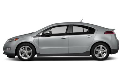 90 Degree Profile 2014 Chevrolet Volt