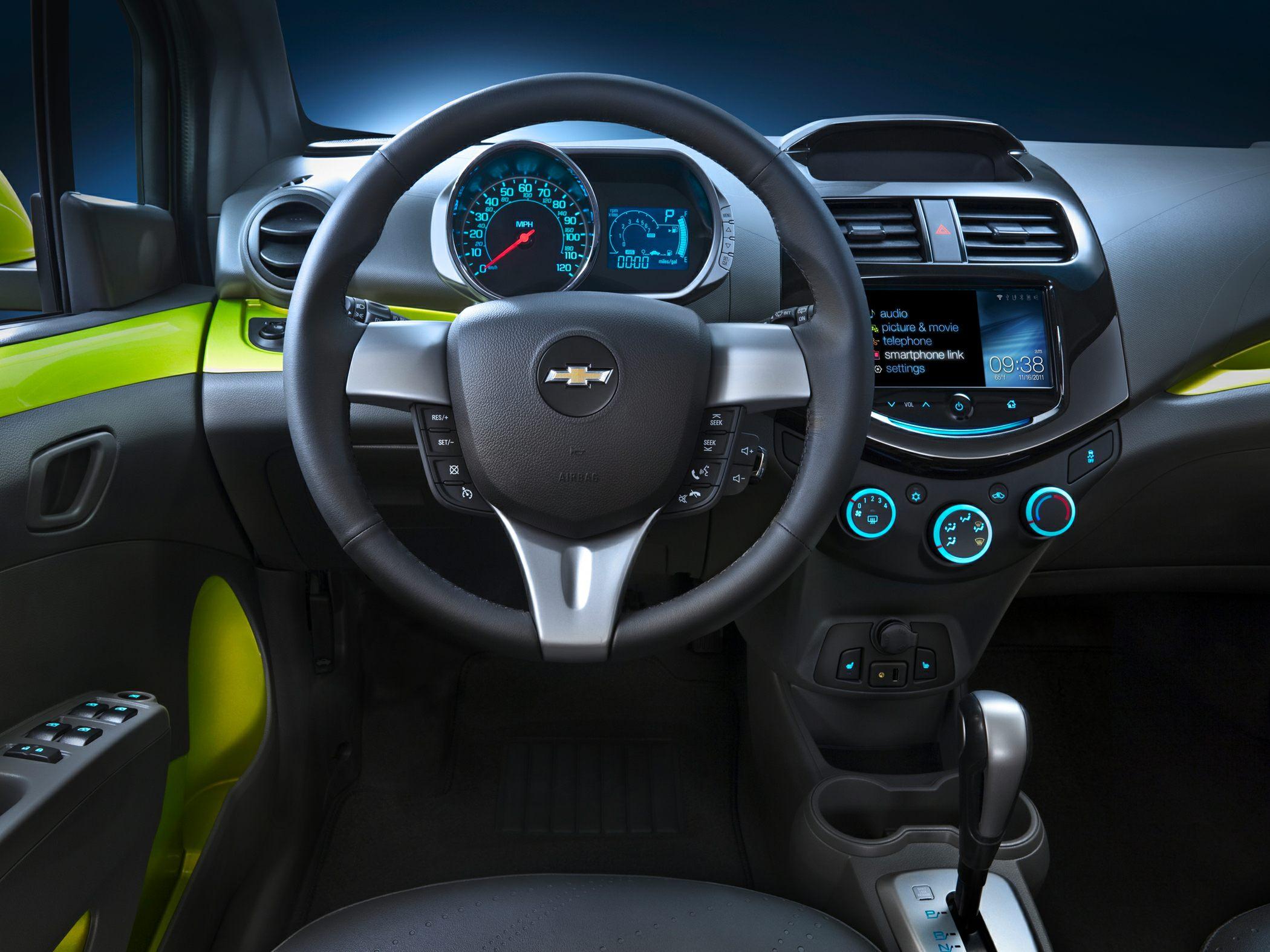 2014 Chevrolet Spark Glamour Interior