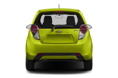 Rear Profile  2014 Chevrolet Spark