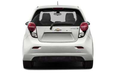 Rear Profile  2016 Chevrolet Spark EV