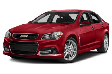 3/4 Front Glamour 2014 Chevrolet SS