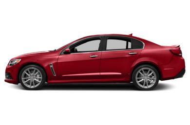 90 Degree Profile 2014 Chevrolet SS