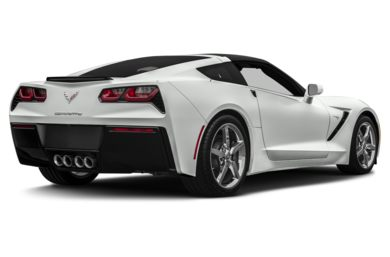3/4 Rear Glamour  2014 Chevrolet Corvette
