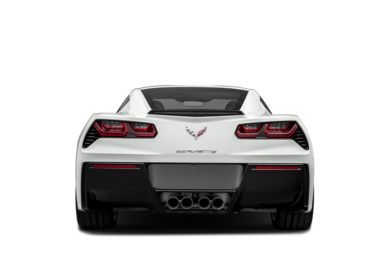 Rear Profile  2016 Chevrolet Corvette