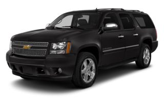 3/4 Front Glamour 2014 Chevrolet Suburban 1500