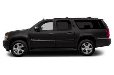 90 Degree Profile 2014 Chevrolet Suburban 1500