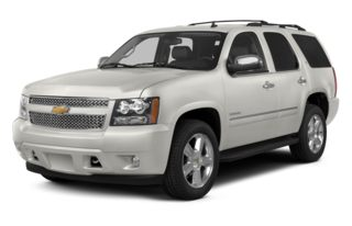 3/4 Front Glamour 2014 Chevrolet Tahoe